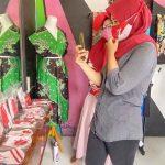 Momen Agustus, Pengrajin Batik di Kota Probolinggo Produksi Masker Kemerdekaan