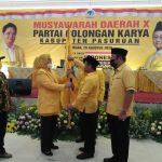 Sah! Rias Yudikari Nakhodai Partai Golkar Kabupaten Pasuruan