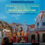 Timbulkan Kerumunan, Pentas Seni di Alun-alun Surabaya Dihentikan Sementara
