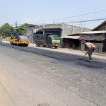 Kerap Dikeluhkan, Jalan Rusak di Karangrejo Tulungagung Akhirnya Diperbaiki