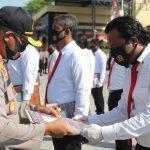 Ungkap Kasus Menonojol, 40 Polisi Berprestasi di Polres Sidoarjo Ini Mendapat Penghargaan