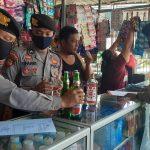 Razia Miras di Sidoarjo, Polisi Amankan Puluhan Botol