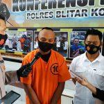 Beroperasi di 21 Lokasi, Spesialis Pencurian Ponsel Pedagang Keliling di Blitar Diringkus