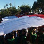 Ratusan Pendaki Gelar Upacara HUT Kemerdekaan di Puncak Penanggungan Mojokerto