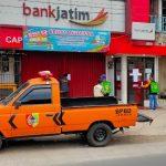 10 Karyawan Positif Covid-19, Kantor Capem Bank Jatim di Jember Disterilisasi