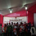 Daftar ke KPU Banyuwangi,Paslon Ipuk-Sugirah Optimis Menang