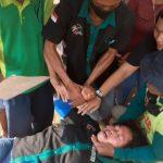 Seorang Perempuan Keserupan Usai Demo Tolak Galian C di Mojokerto