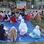 Hilangkan Kejenuhan Selama Covid-19, TPQ di Jombang Gelar Edukasi Via Dongeng