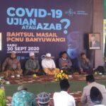 Hasil Bahtsul Masail PCNU Banyuwangi: Denda Uang bagi Pelanggar Prokes Haram Hukumnya!