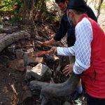 Struktur Bata Kuno Era Pra-Majapahit Ditemukan di Pekarangan Warga Nganjuk