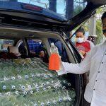 Mobil Muat Ratusan Botol Ciu di Tulungagung Baru Berhenti Setelah Ban Ditembak Polisi