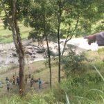 Daihatsu Zebra Terjun ke Jurang Sedalam 30 Meter di Tulungagung