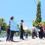 Peringati Hari Tani Nasional, Mahasiswa Gelar Demonstrasi di DPRD Sumenep