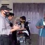 Terjaring Razia Masker, Seorang  Pria di Jember Malah Ajak Petugas Doa Bersama