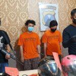 Dua Residivis Curanmor Dibekuk Setelah Aksinya di Surabaya Terekam CCTV