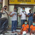 Melawan Saat Ditangkap, Dua Pelaku Curanmor di Surabaya Ditembak Polisi