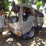 Sopir Ugal-ugalan, Mobil Rombongan Guru SDN Mlandingan Situbondo Terguling