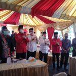Risma dan Wisnu Kawal Eri-Armuji Mendaftar ke KPU Surabaya