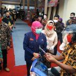 Gubenur Jatim Dan Bupati Blitar  Launching Teras Adminduk 'Salam Empat Jari'