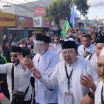 Bertolak dari Masdjid, Paslon Hendy-Gus Firjaun Mendaftar ke KPU Jember