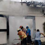 Bikin Gempar, Rumah Kosong di Tulungagung Mendadak Terbakar