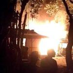 Ditinggal ke Rumah Kerabat, Rumah Milik Buruh Tani di Situbondo Terbakar