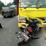 Motor Vs Truk di Jombang, Dua Tewas, Ibu dan Balita Luka Parah