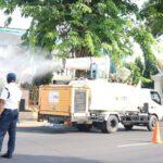 PMI Kota Pasuruan Perluas Penyemprotan Disinfektan