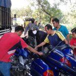 Pengendara Moge Honda Asal Tuban, Kecelakaan di Jombang