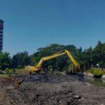 Antisipasi Banjir Pada Musim Penghujan, Dinas PU Bina Marga Normalisasi Sungai