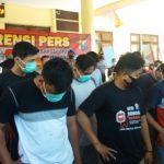 Berkas 46 Oknum PSHT Tersangka Perusakan Dilimpahkan ke Kejari Situbondo