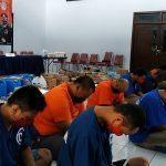 Operasi Tumpas Semeru, Polres Blitar Kota Tangkap 12 Tersangka Pengedar Narkoba