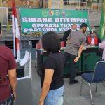 Tak Pakai Masker, Pelanggar di Ngawi Disanksi Push-up dan Menyanyi Indonesia Raya