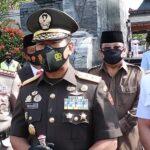 HUT TNI Ke-75 Pangdam V Brawijaya Ziarah Makam Bung Karno di Blitar