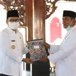 Bupati Baddrut Tamam Kukuhkan Imam Besar Masjid Agung Pamekasan