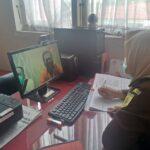 Tersangka dan BB Uang Ratusan Juta Dugaan Korupsi BKKBD Dilimpahkan Secara Virtual