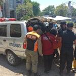 Mayat Membusuk Ditemukan di Bawah Jembatan Joyoboyo Surabaya, Ada Paving di Tasnya