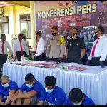 Operasi Tumpas Semeru, Belasan Pengedar Sabu Diringkus Polres Pasuruan