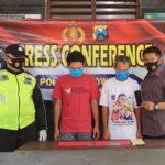 Dua Penjudi Togel Online di Jombang Dibekuk Polisi