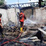 Kompor Gas Meledak, 2 Rumah Milik Ibu dan Anak di Situbondo Jadi Arang
