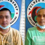 Dua Warga Lenteng Sumenep Diamankan Gegara Sabu-Sabu