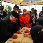 Duet Petahana Santoso-Tjutjuk Daftar Bapaslon ke KPU Kota Blitar
