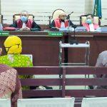 Mantan Kadis PU Sidoarjo Dituntut 2 Tahun Penjara, Kabid BM dan Kabag ULP 3 Tahun