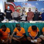 Polrestabes Surabaya Bongkar Sindikat Narkoba Jaringan Lapas di Jatim