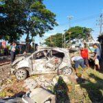 Mobil Suzuki Splash Ditabrak KA di Perlintasan Tak Berpintu Pasuruan, Satu Tewas