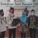 Pasangan Teno-Hasjim Resmi Daftar Pilwali Kota Pasuruan