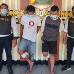 Coba Kabur Saat Ditangkap, Dua Tersangka Curanmor di Surabaya Ditembak Kakinya