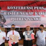 Terlibat Peredaran Upal, Mantan Pejabat Pemkab Madiun Diringkus Polres Ngawi