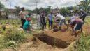 Tolak Pemakaman Protokol Covid-19, Warga di Jember Menguruk Lagi Makam yang Baru Digali