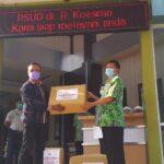 Konferwil 2: AMSI Jatim-EMCL Serahkan APD untuk Nakes di Tuban dan Bojonegoro
